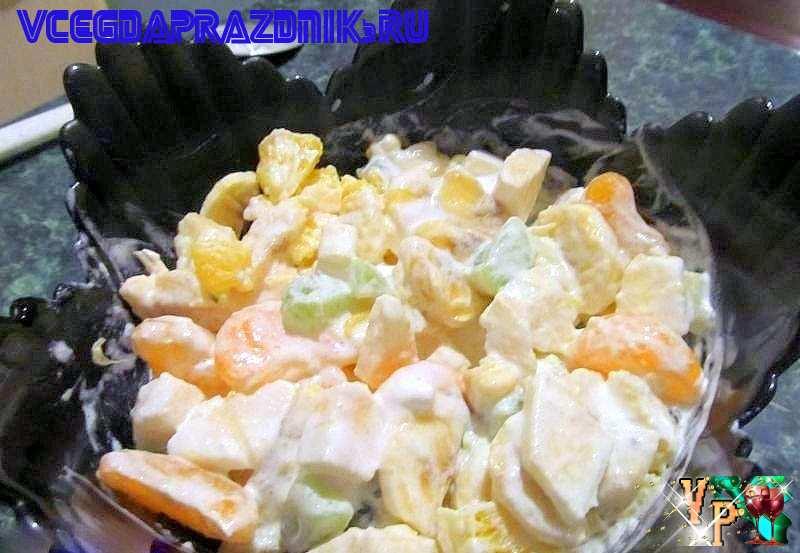Фруктовый салат рецепт и фото