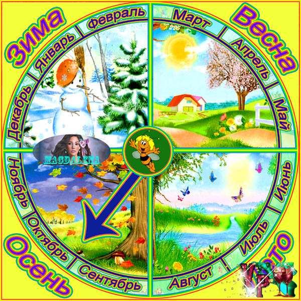 Детского сада календари для