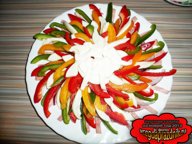 Вкусные салаты на день рождения без майонеза и рецептами