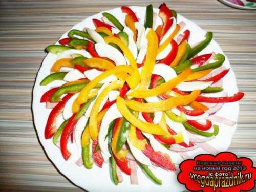 Простые салаты на новый год вкусные