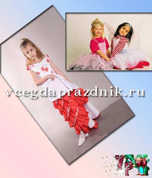 Сшить детское платье на выпускной