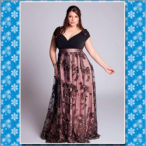 Фото платьев для пышных женщин