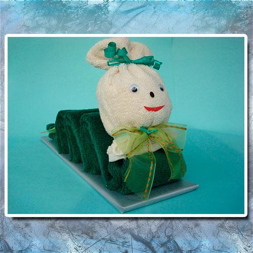 Как оформить полотенце в подарок на 23 февраля