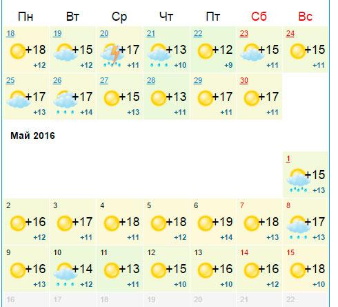 Погода 27 июнь