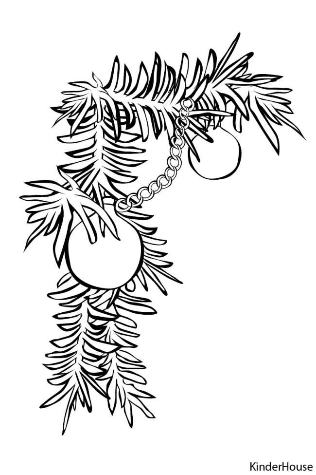 Вытынанки на новый год елка