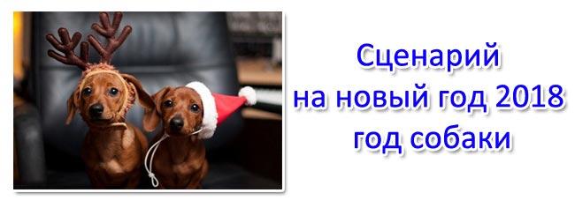 Сценарий на новый год 2018 год собаки. Сценарий для дома