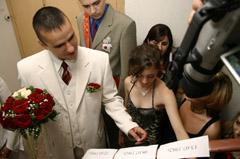 Сценарий выкупа невесты по ролям