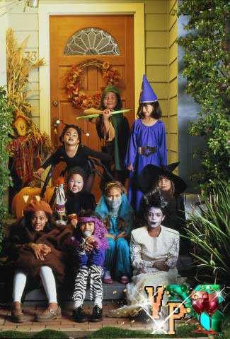 Детский день рождения дома сценарий 10 лет - День привидений
