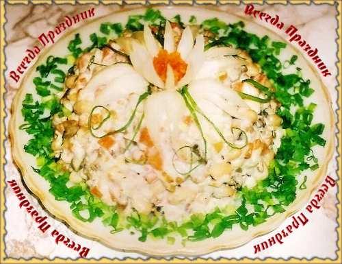 Салат с сельдью (с фото)