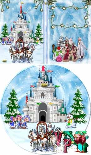 Обложка для dvd – С новым годом 2012 (вариант 5)