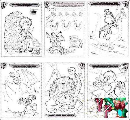 Детские раскраски с заданиями для ваших деток