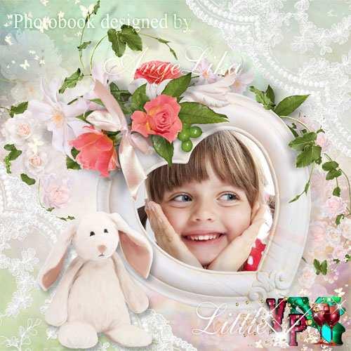 Фотокнига для девочек - Маленькая леди