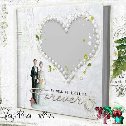 Свадебная фотокнига - Верность, любовь, нежность