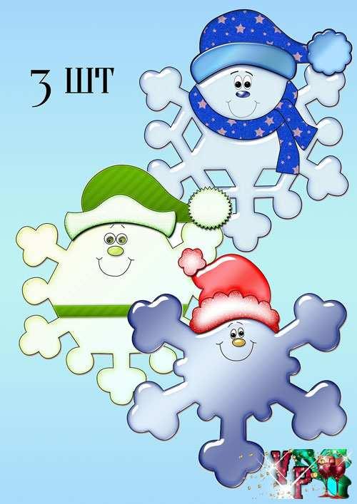 Оформление детского сада к новому году – Веселые снежинки
