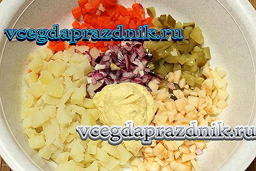 Вкусные салаты на новый год 2014 с фото