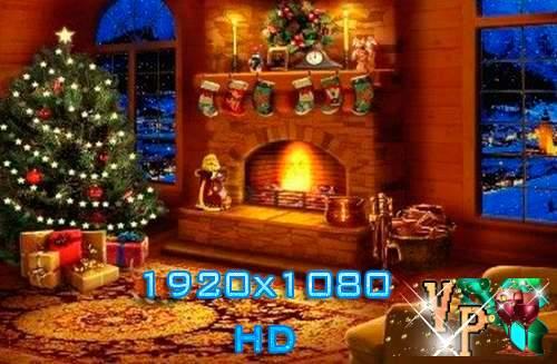 Футаж – Рождественское настроение