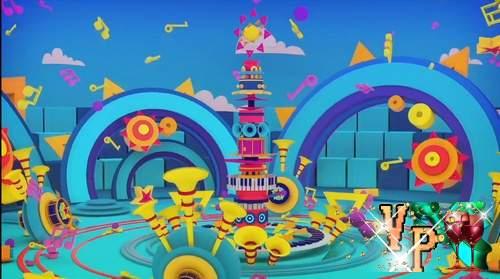 Видео футажи HD - Детский праздник (концерт)