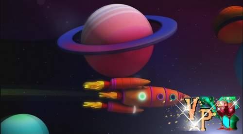 Видео футаж HD - Ракета