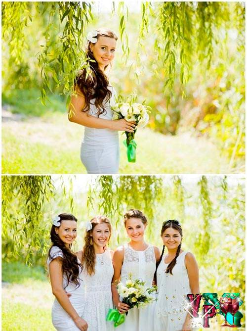 Годовщина свадьбы на природе