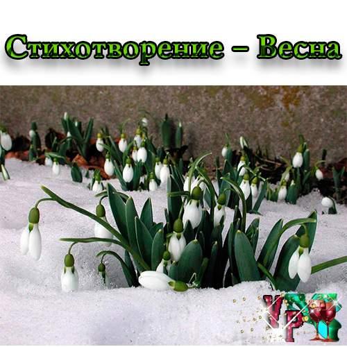 Стихотворение – Весна
