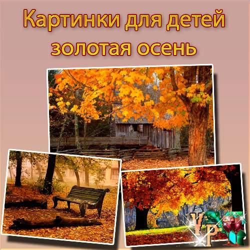 Картинки для детей золотая осень. Осень в картинках