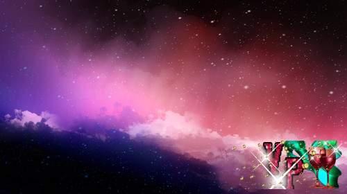 Футаж - Красочное небо