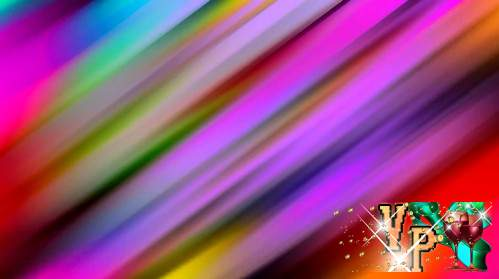 Футаж - Радужные полосы
