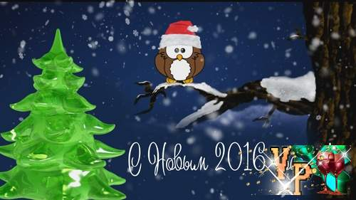 Видео футаж HD - Тепла и уюта в Новом году !