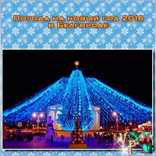 Погода на новый год 2016 в Белгороде. Какая будет погода?