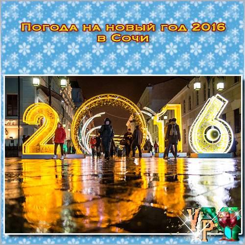 Погода на новый год 2016 в Сочи. Какая будет погода?