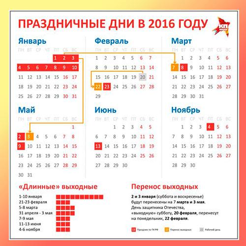 7 мая 2016 рабочий день или нет?