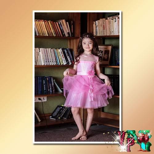 Нарядные платья для девочек 7 лет на выпускной. Фото платьев в детский сад