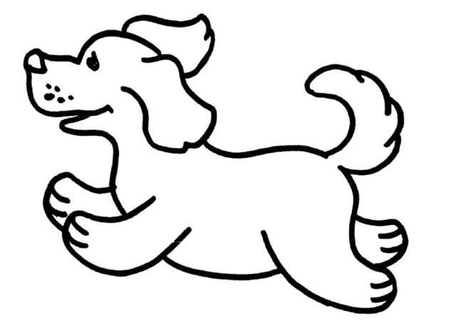 Трафареты собаки на окна к новому году 2018 для вырезания формата а4. Новые трафареты