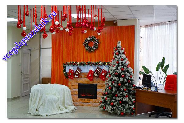 Как украсить офис к Новому году? ТОП 7 идей с фото